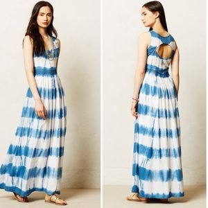 Anthropologie Vanessa Virginia Matra maxi dress